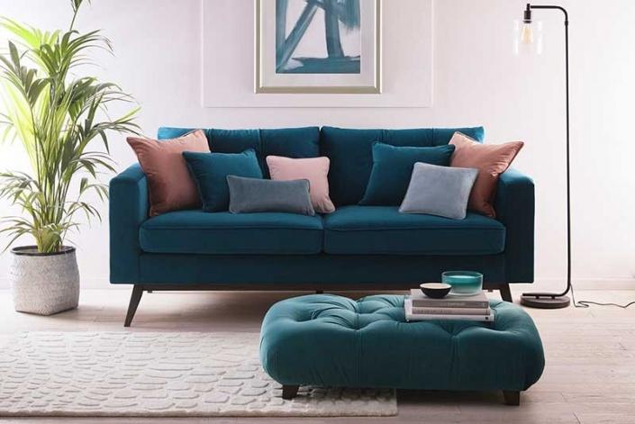 Alvar Kingfisher fabric