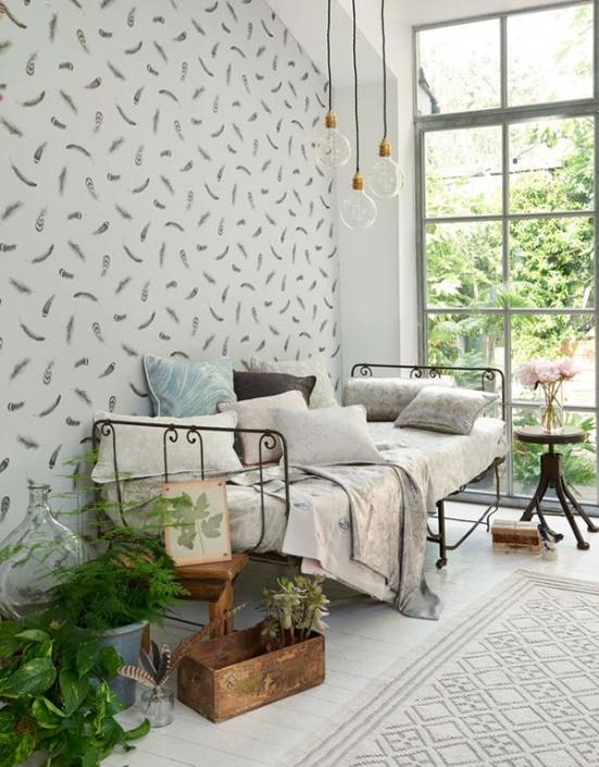 Boatanica Plumis Wallpaper