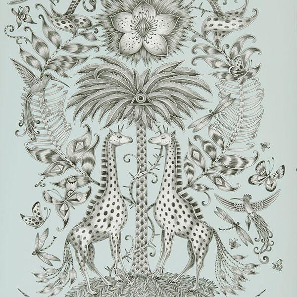 Kruger Eggshell Animalia wallpaper