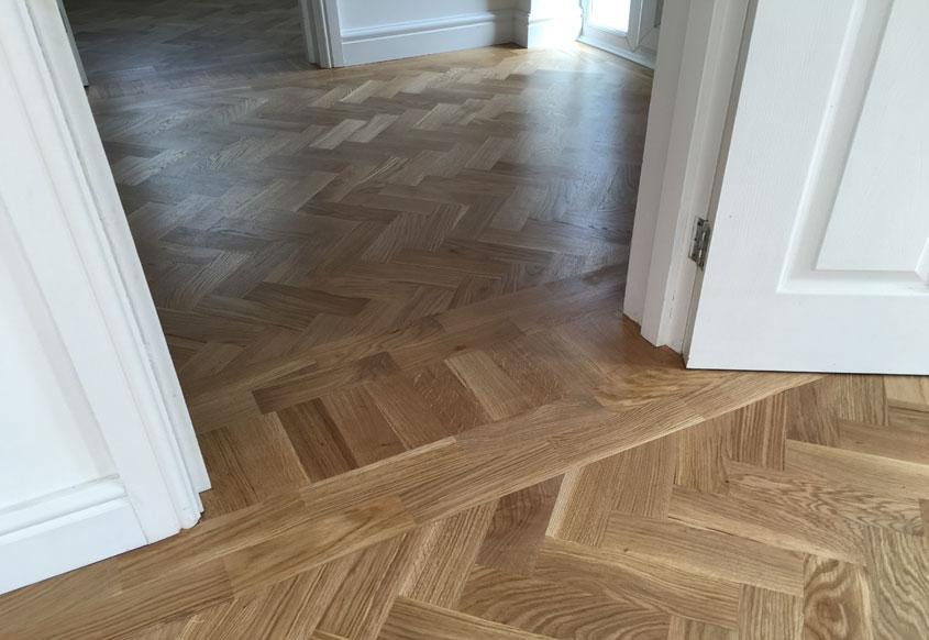 Oak-Herringbone- wooden flooring-frodsham