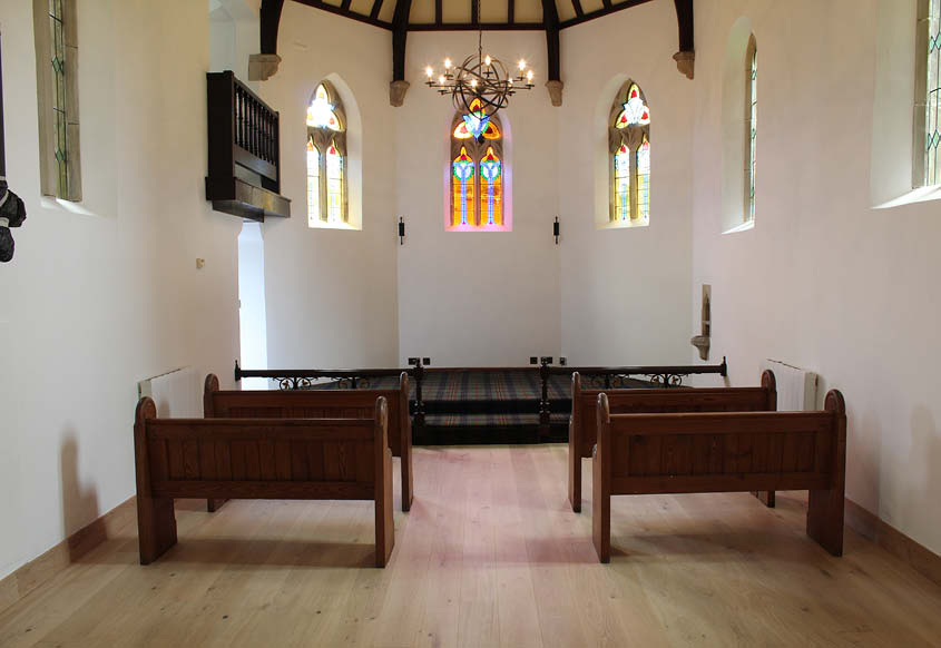 Swettenham Hall flooring installation